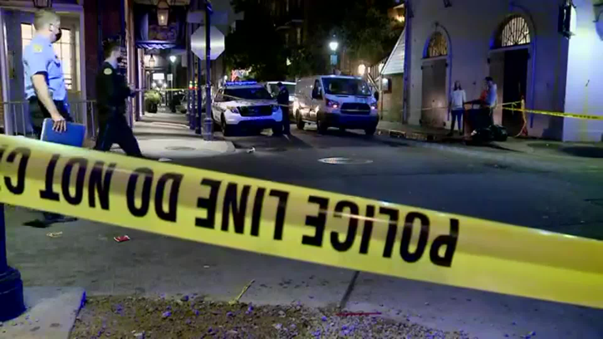 Five People Injured in Shooting on New Orlean's Bourbon Street