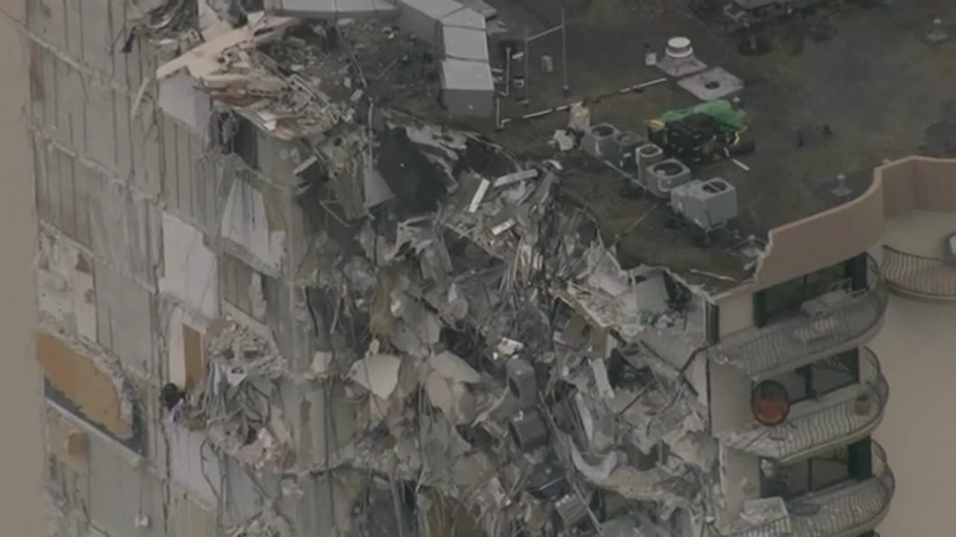 Image for The death toll from the Florida condo collapse reaches 11 as rescuers race to find 150 people still missing