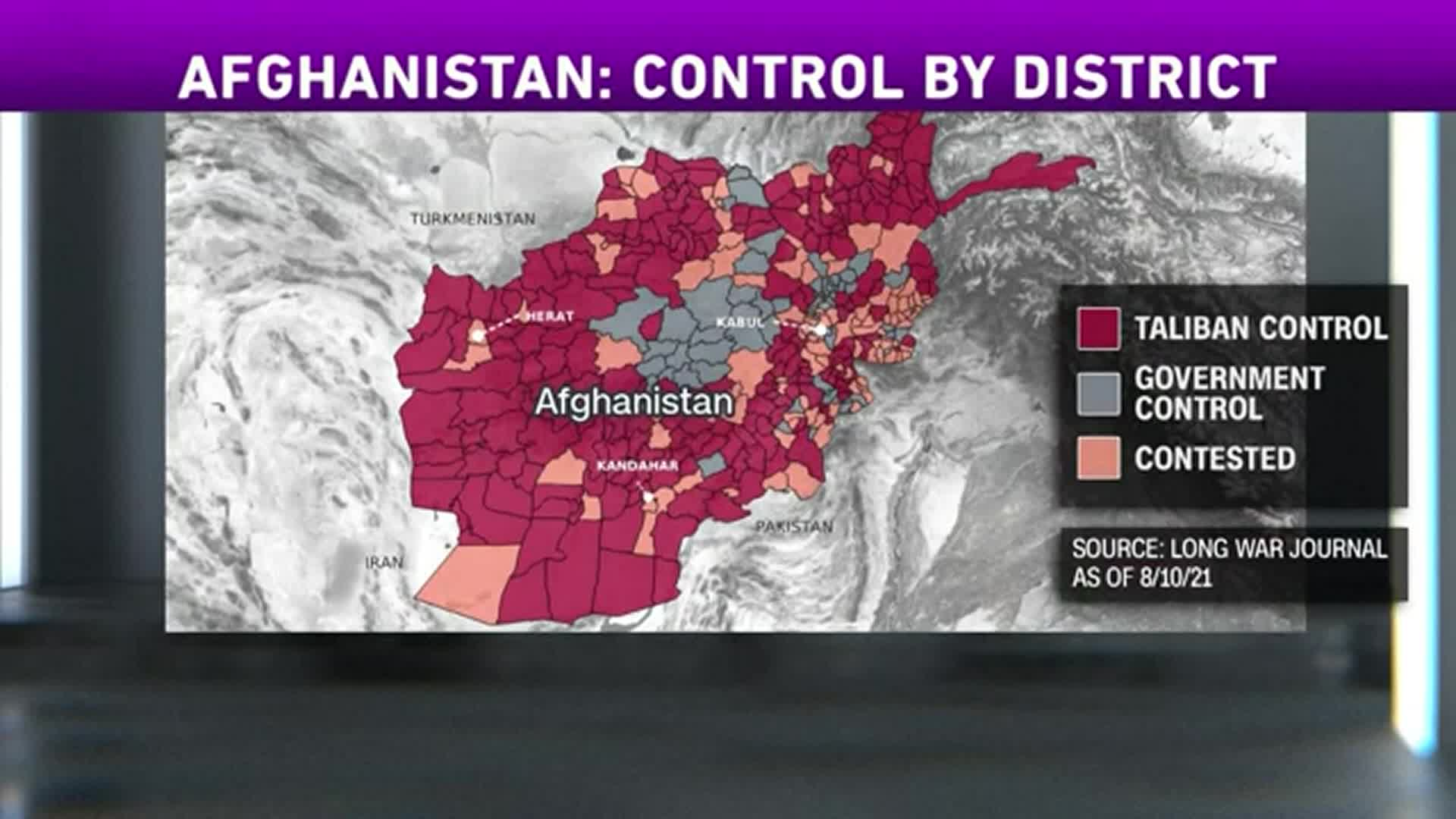 Image for US sending 3,000 troops to aid Afghanistan evacuation