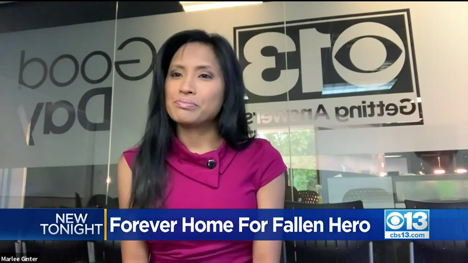Image for Non-Profit Pays Off Mortgage For Widow Of Stockton Fallen Officer