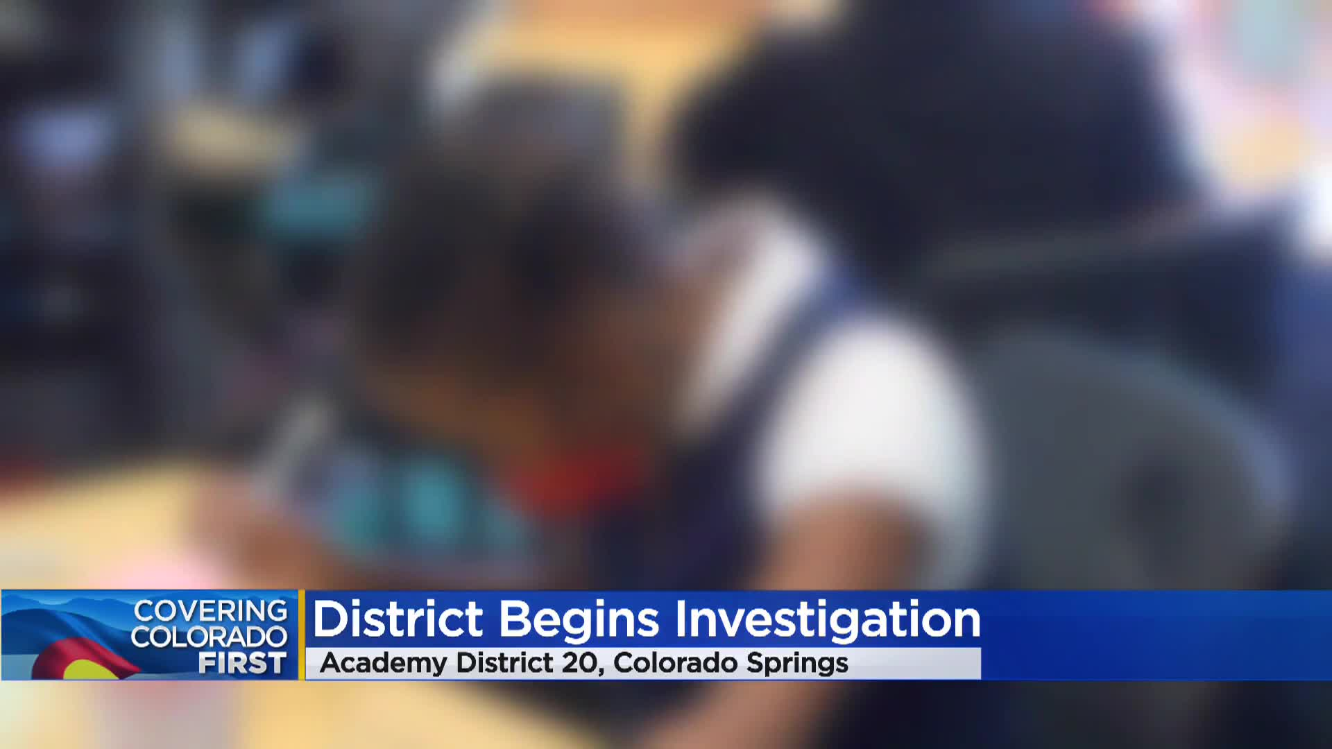 Image for Colorado Springs Student Says She Was Forced To Tape Mask To Face At School