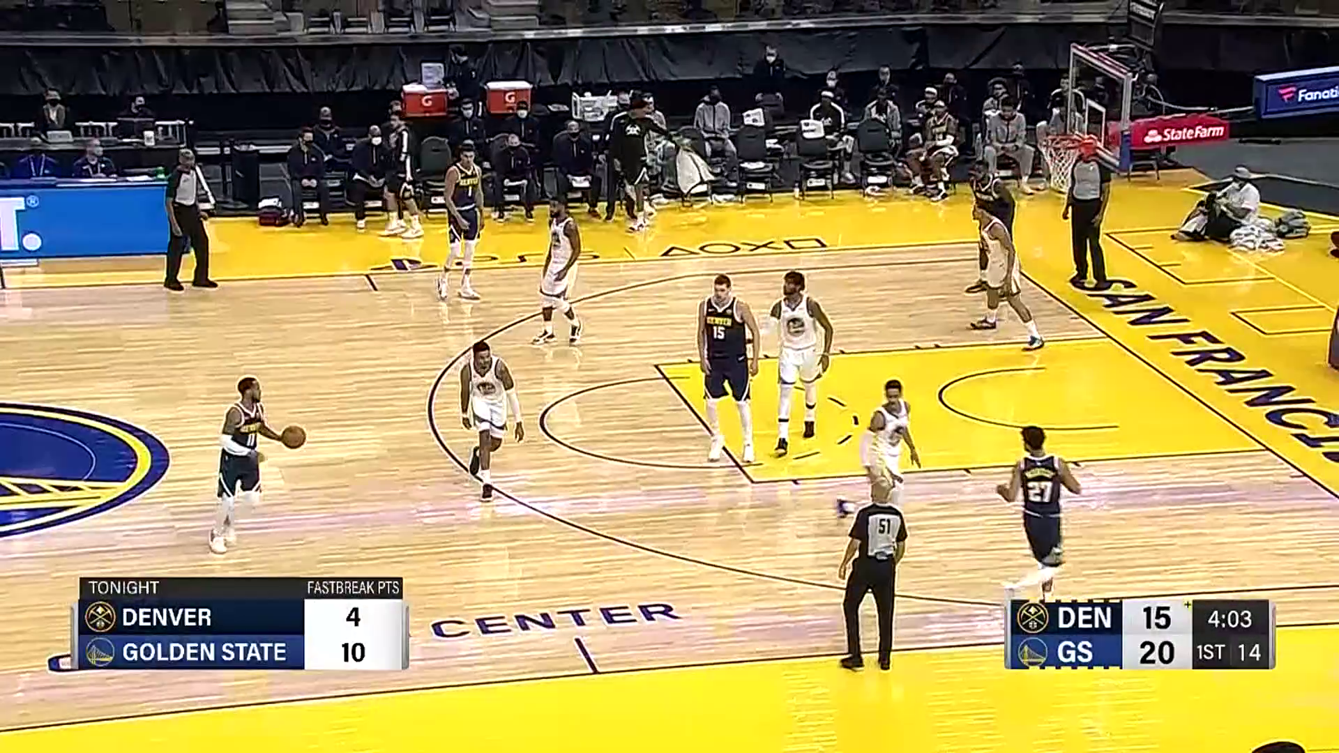 Denver Nuggets top plays of the 2020 preseason