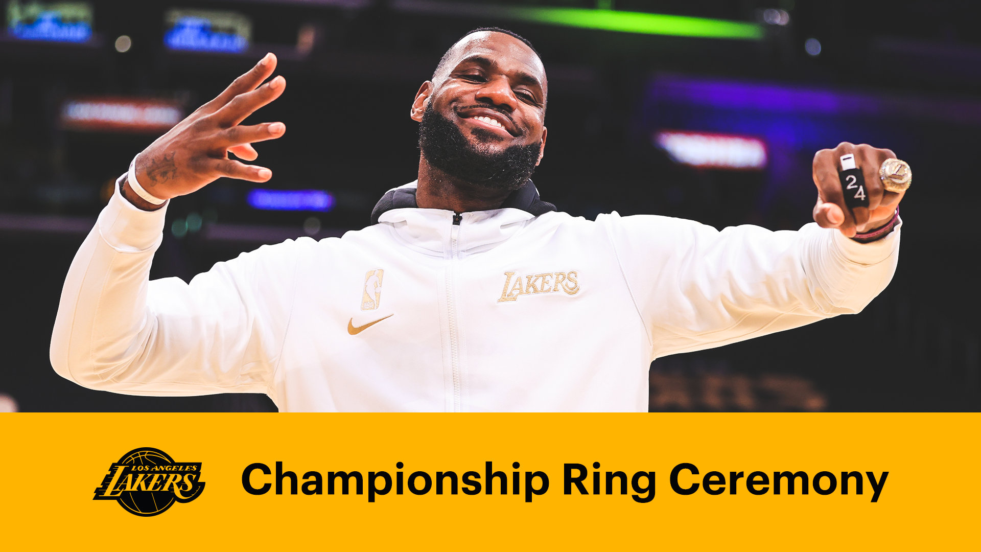 Lakers Receive Their 2020 Championship Rings
