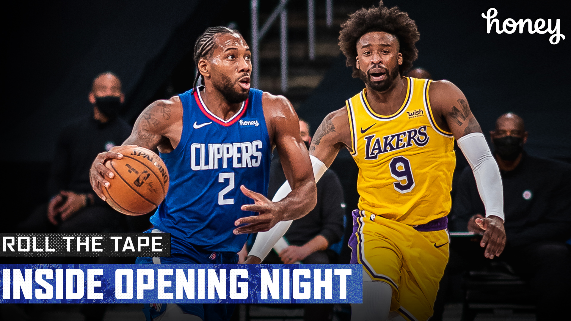 Roll The Tape | Inside Opening Night 2020