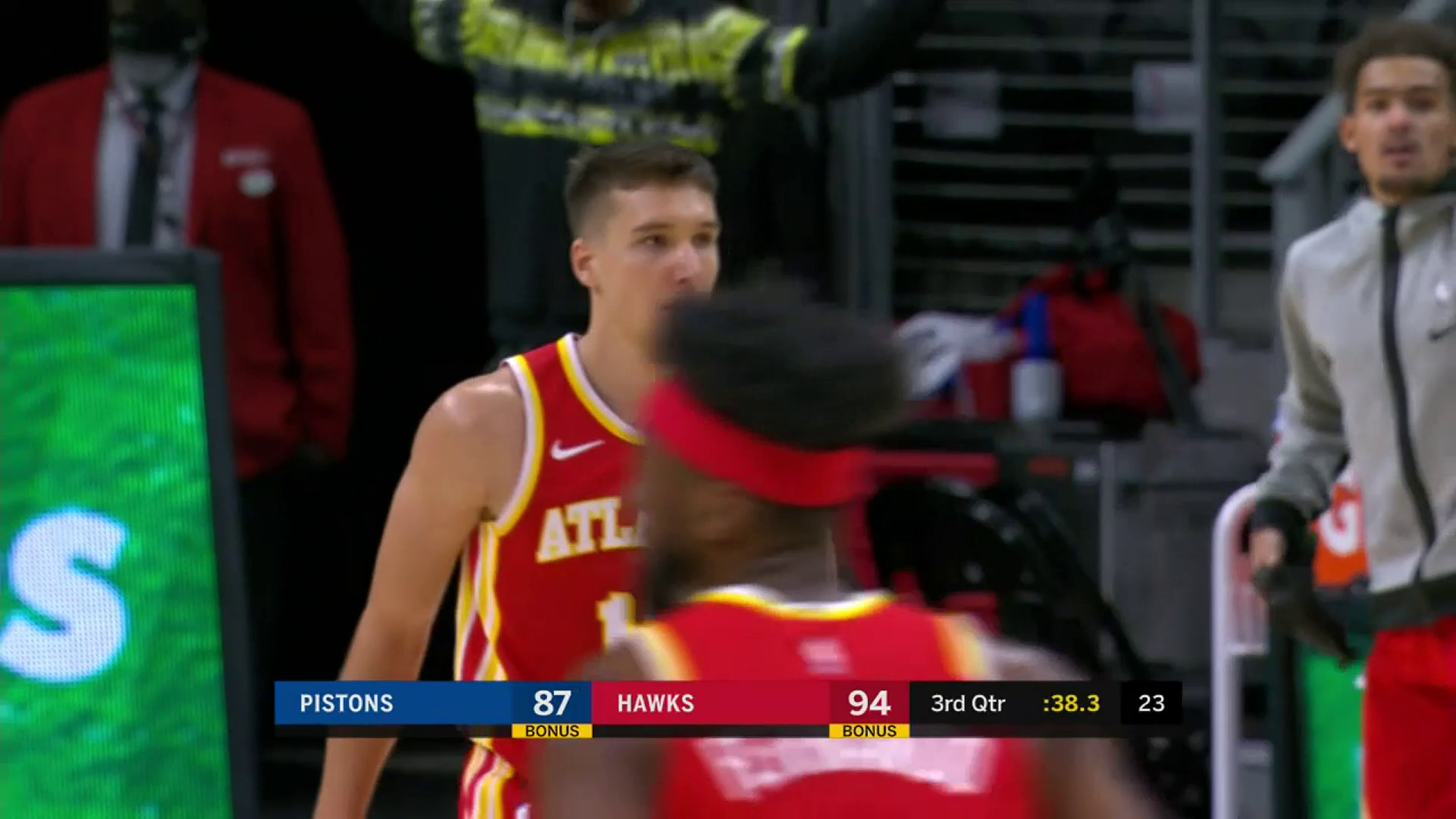 Bogdanovic Adds 17 Points Off The Bench