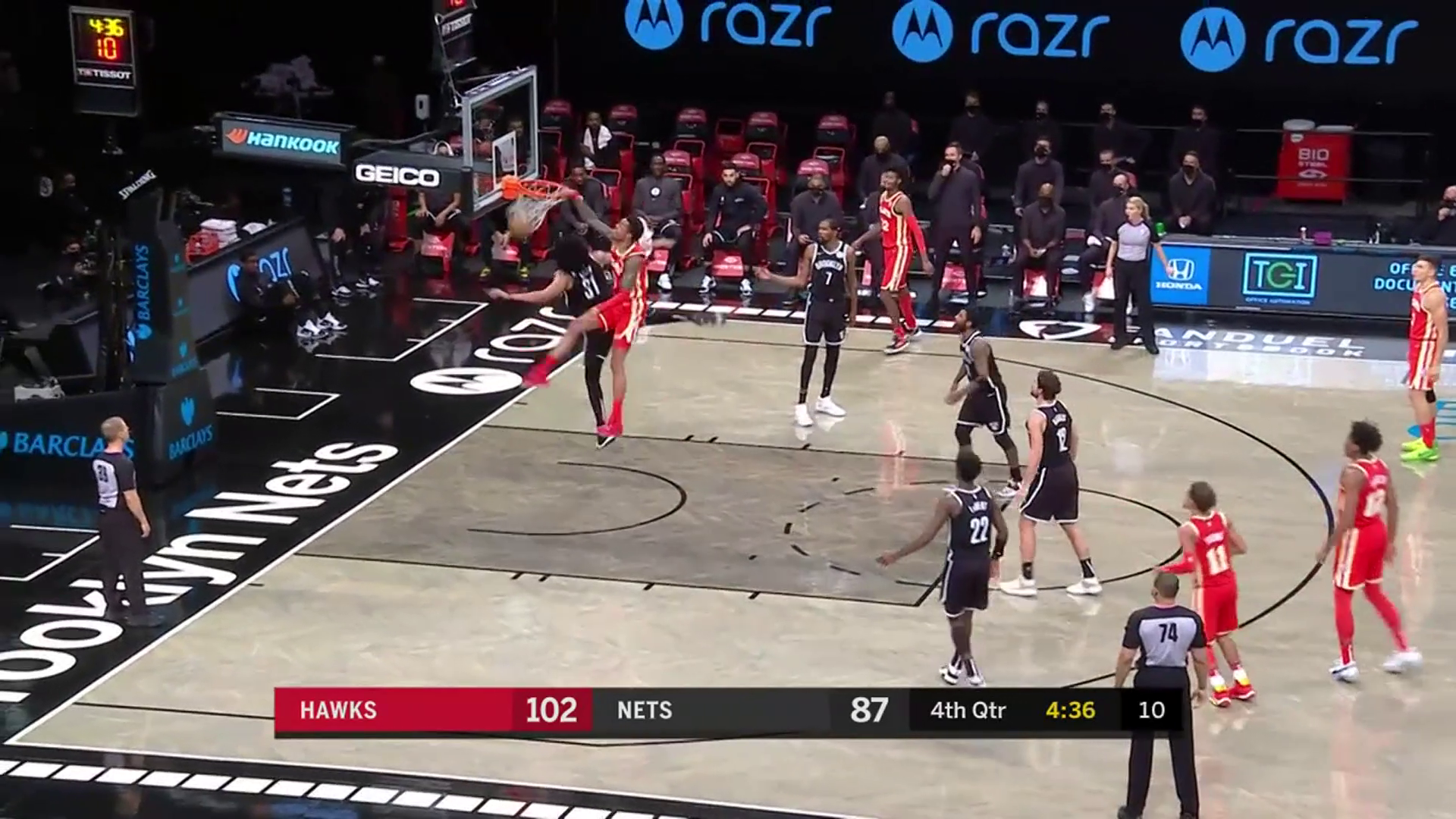 De'Andre Hunter Puts Up 23 Points In Big Win Over Nets