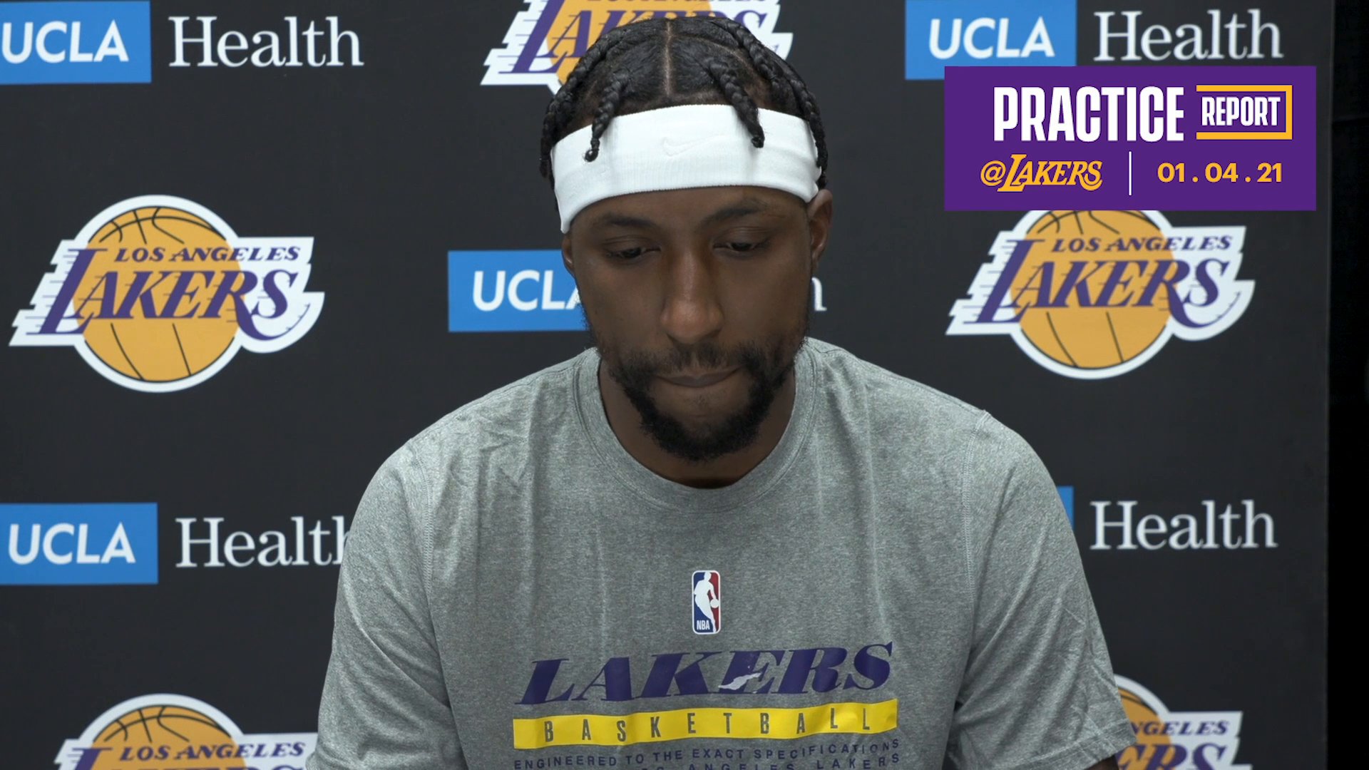 Practice Report: Kentavious Caldwell-Pope (01/04/21)