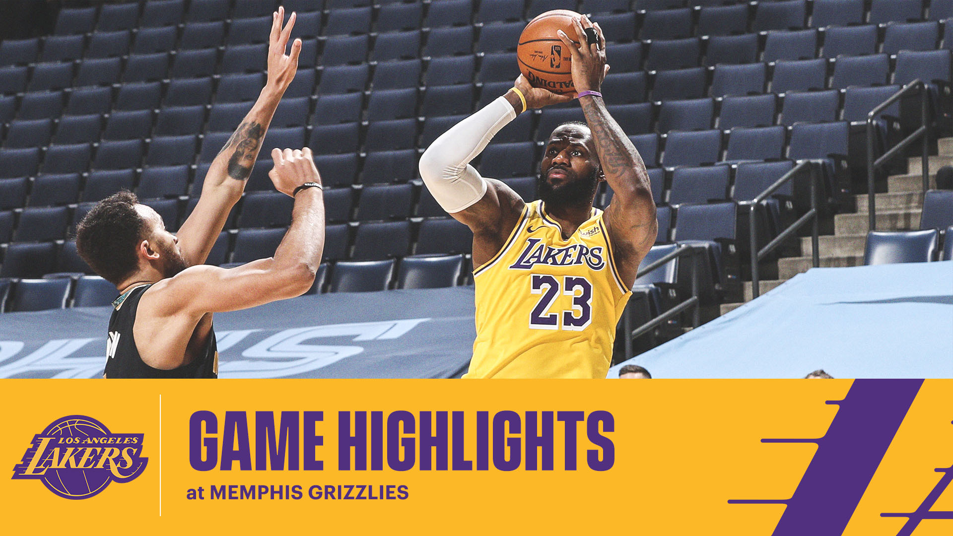 HIGHLIGHTS | LeBron James (26 pts, 11 reb, 7 ast) at Memphis Grizzlies
