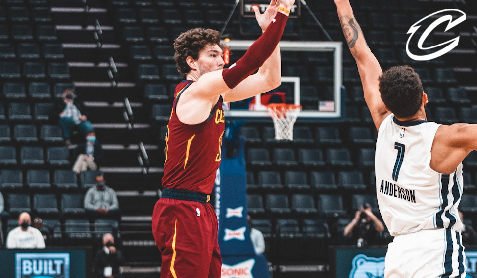 Cedi Scores CLE's First Eight Points