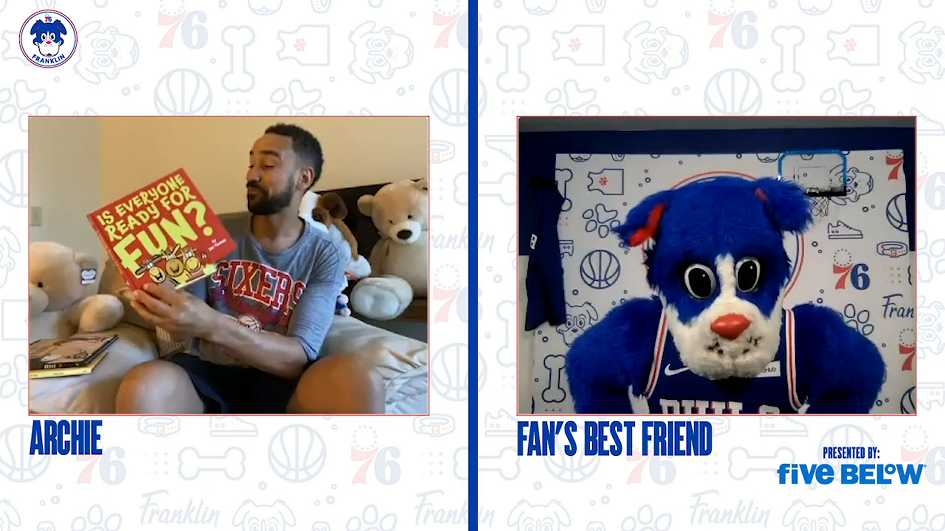 Story Time With Fan's Best Friend: Is Everyone Ready For Fun?