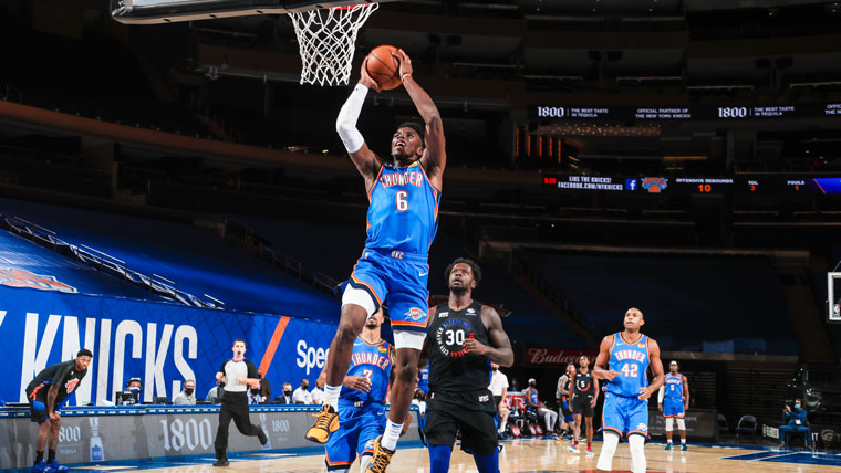 Highlights: Thunder 101, Knicks 89