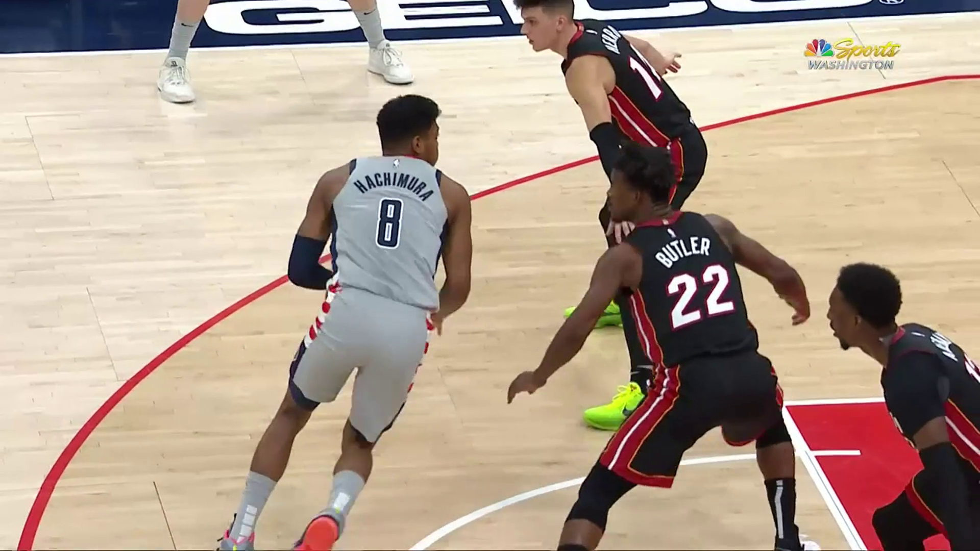 Highlights: Rui Hachimura vs. Heat - 1/9/21