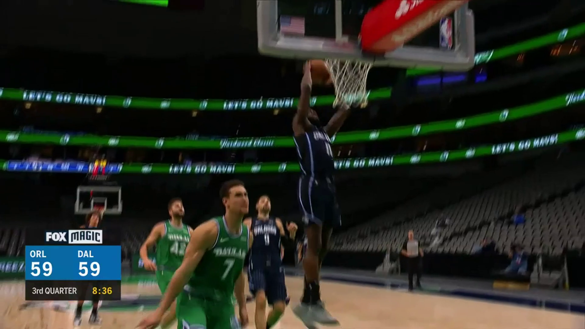 James Ennis' Steal and Slam