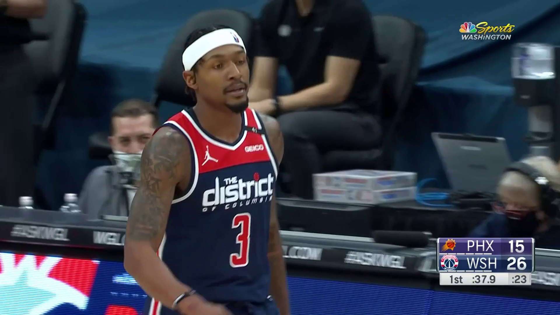 Highlights: Bradley Beal vs. Suns - 1/11/21