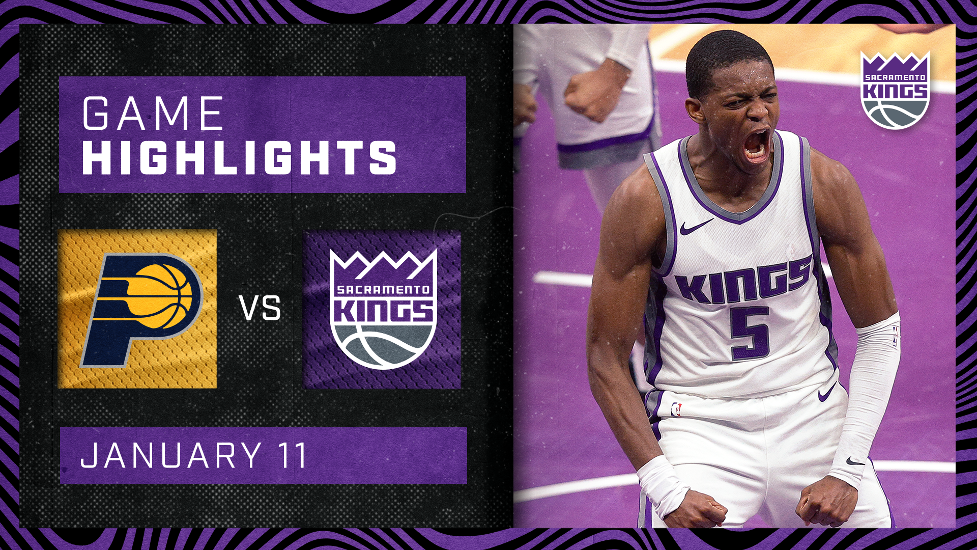 The Kings Hold it DOWN at Home! | Kings vs Pacers 1.11.20