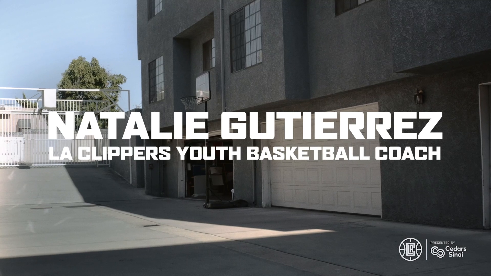 Natalie Gutierrez, LA Clippers Youth Basketball Coach