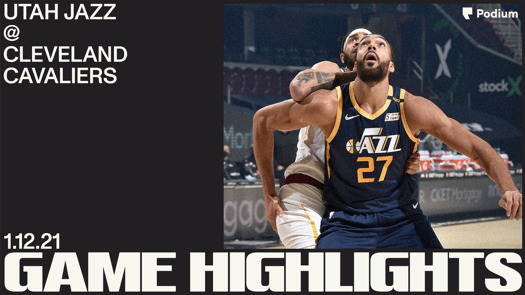Highlights: Jazz 117 | Cavaliers 87
