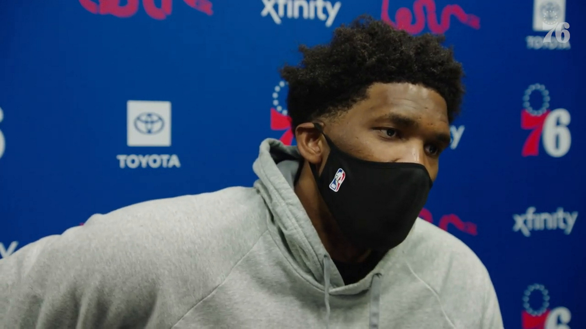 Joel Embiid | Postgame Media vs Miami Heat (01.12.21)