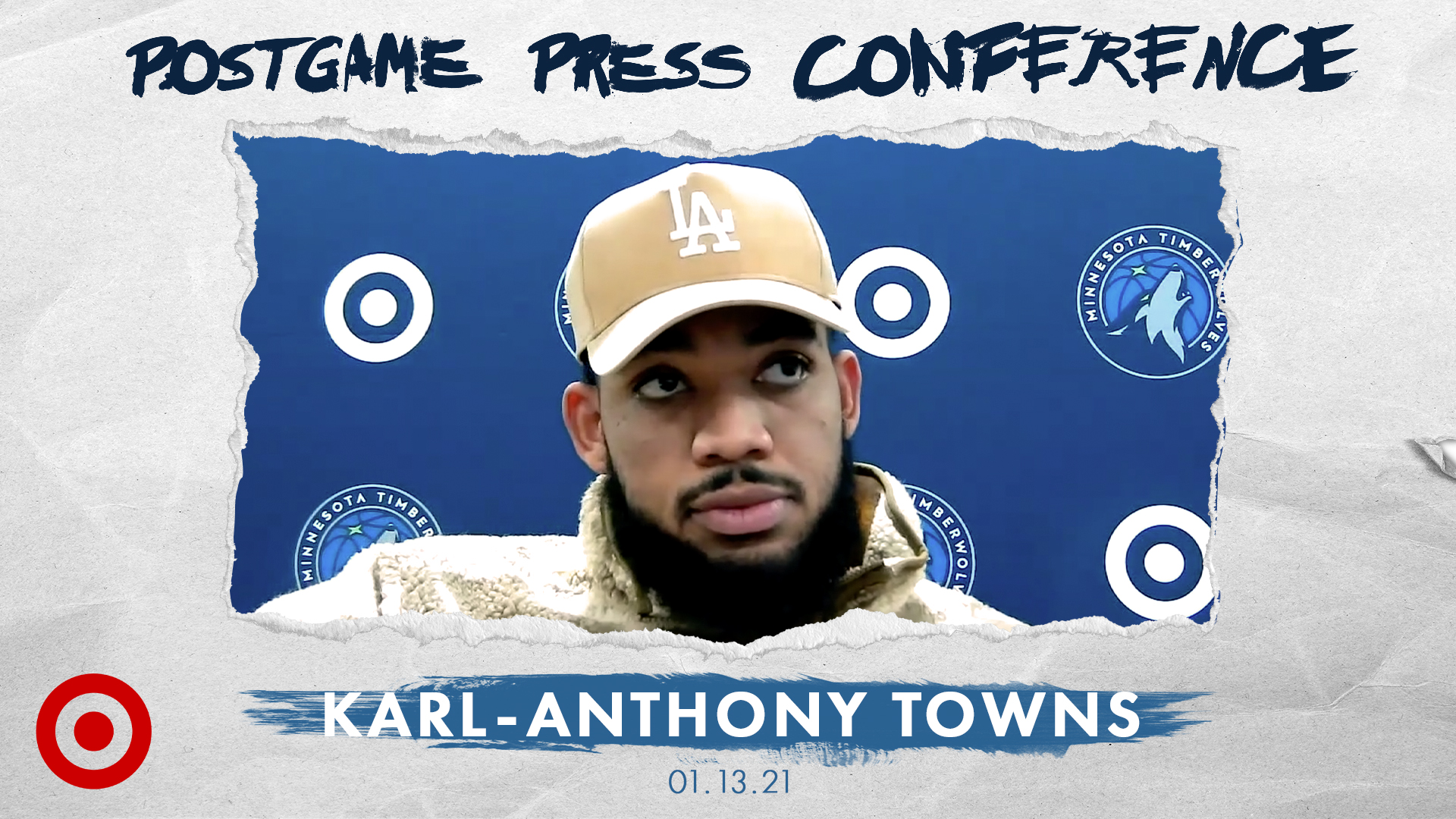 Karl-Anthony Towns Postgame Press Conference - January 13, 2021