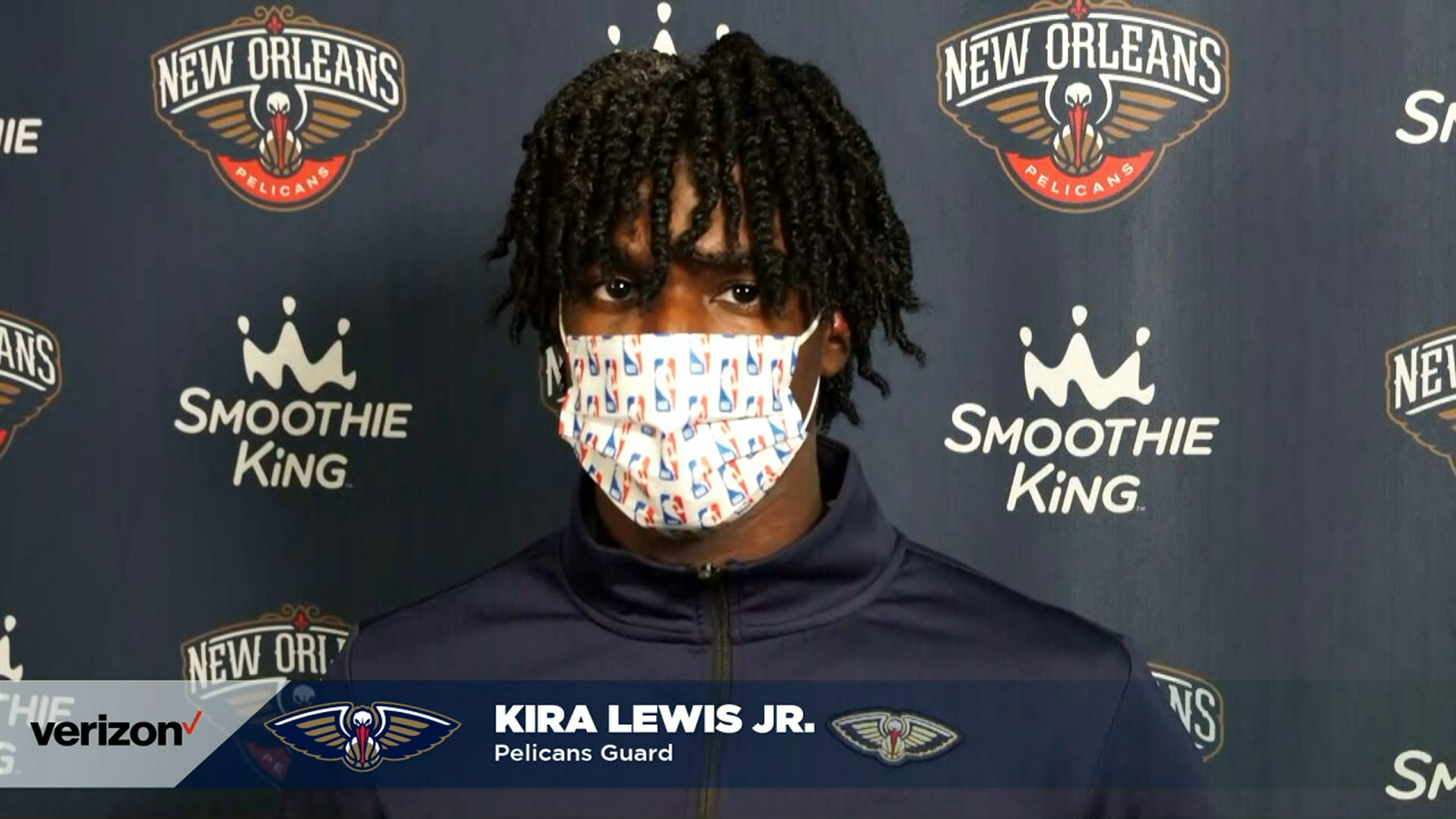 Kira Lewis Jr. talks extended minutes | Pelicans-Clippers Postgame
