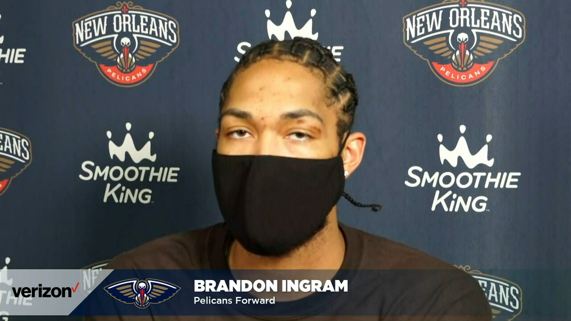 Brandon Ingram on the play of young Pelicans teammates | Pelicans-Clippers Postgame