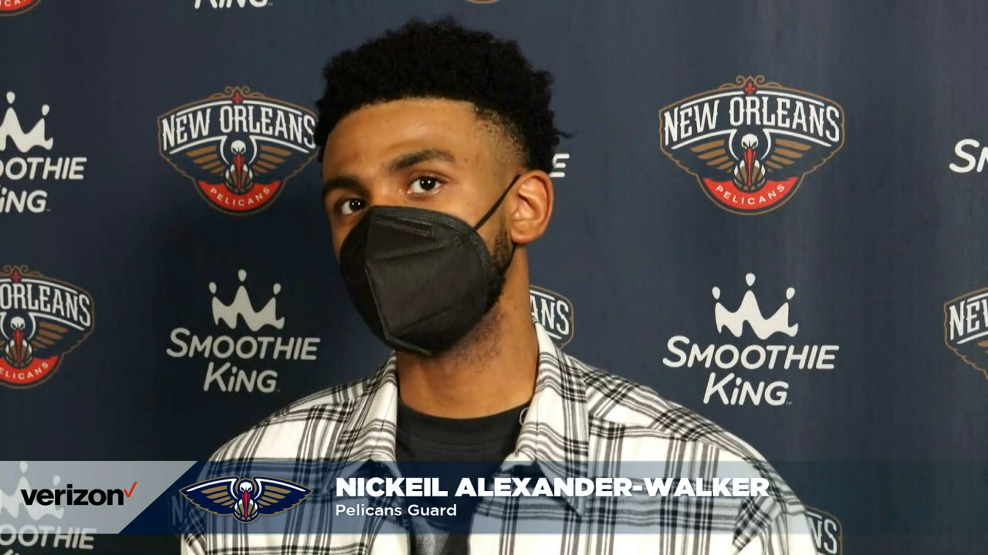 Nickeil Alexander-Walker talks 37-point game | Pelicans-Clippers Postgame