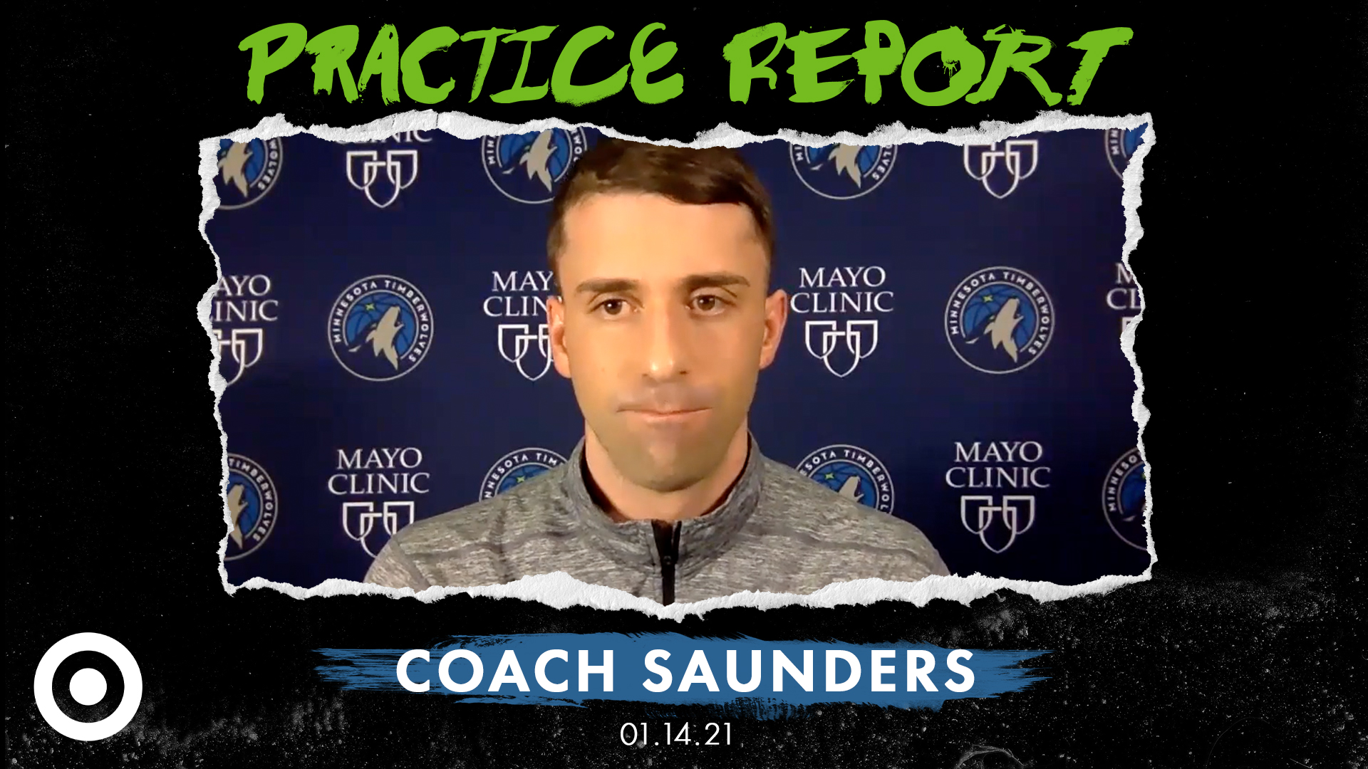 Coach Saunders Practice Report - January 14, 2021