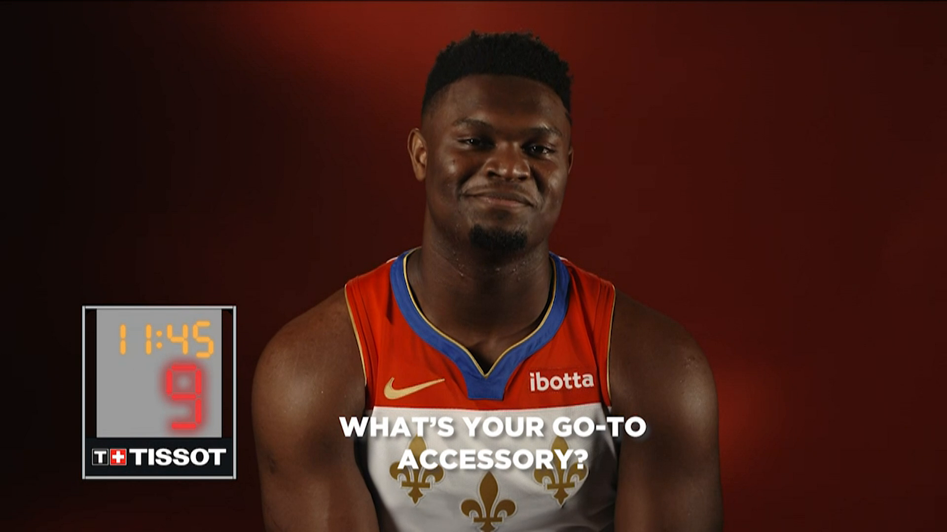 24 Seconds with Zion Williamson presented by Tissot
