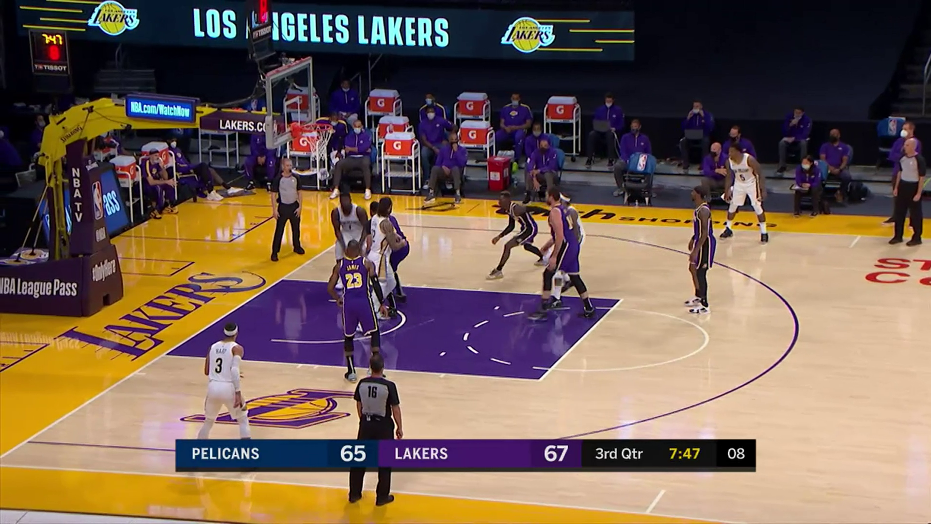 Pelicans-Lakers Highlights: Zion Williamson double-clutch slam