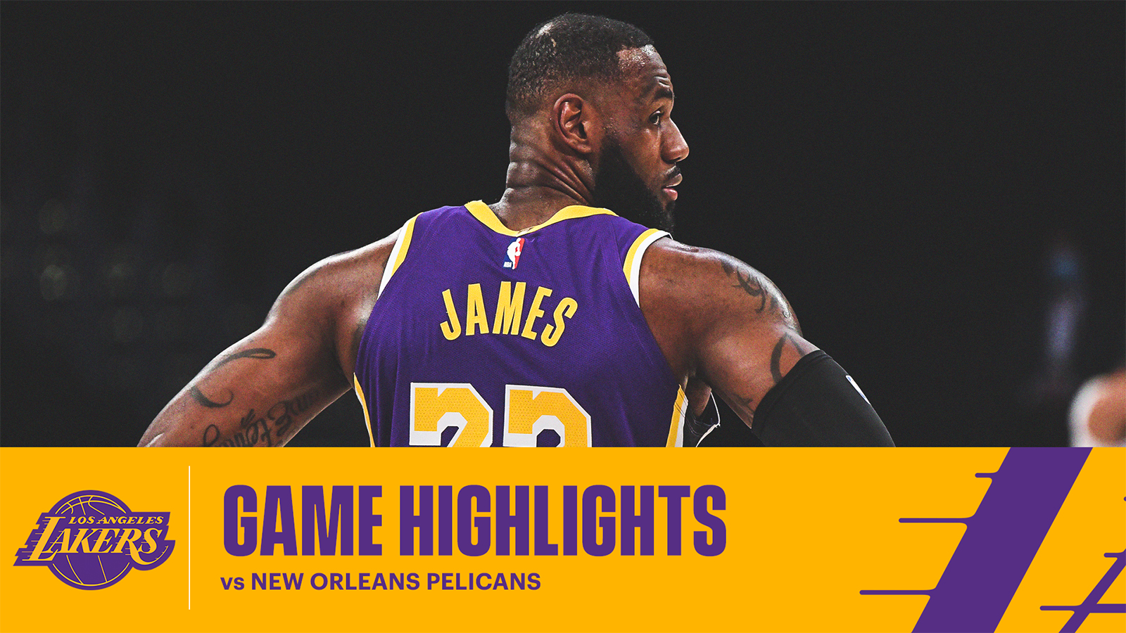 HIGHLIGHTS | LeBron James (21 pts, 11 ast, 8 reb) vs New Orleans Pelicans
