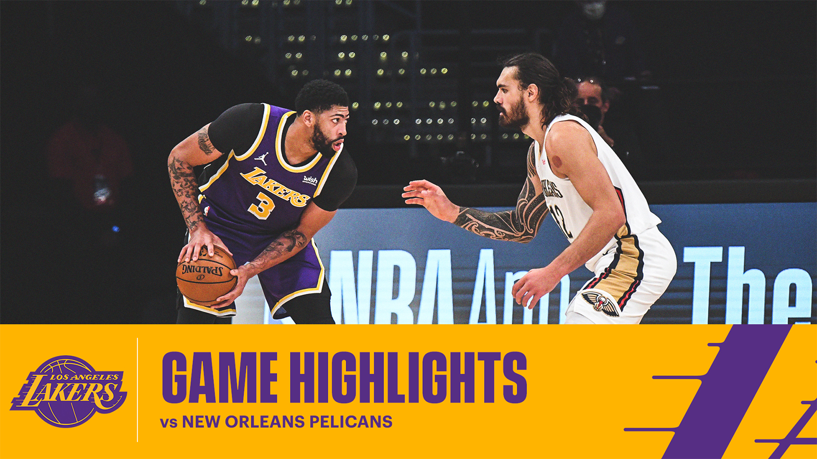 HIGHLIGHTS | Anthony Davis (17 pts, 6 reb, 5 ast) vs New Orleans Pelicans