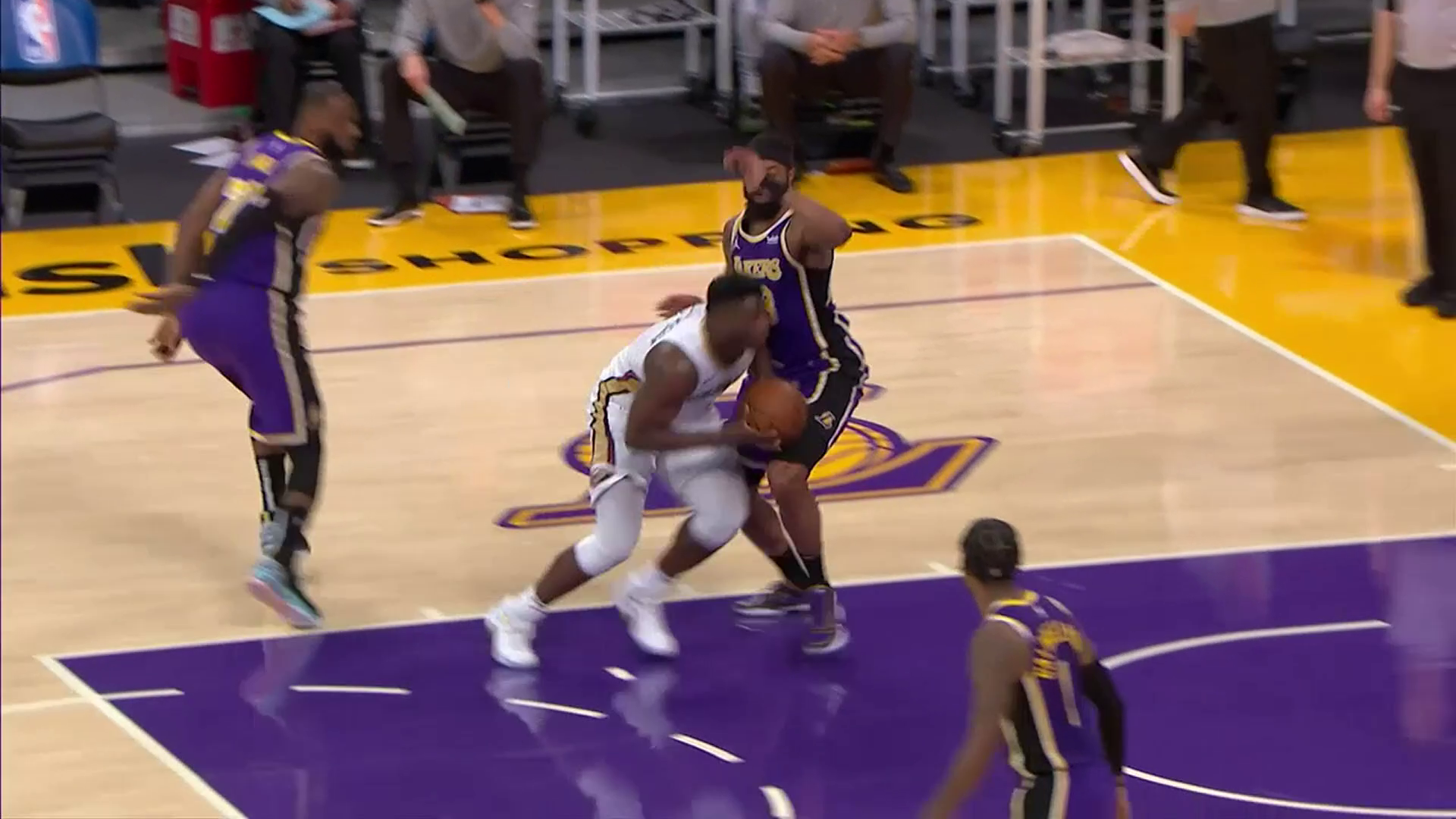 Pelicans-Lakers Highlights: Zion Williamson scores a team-high 21 points