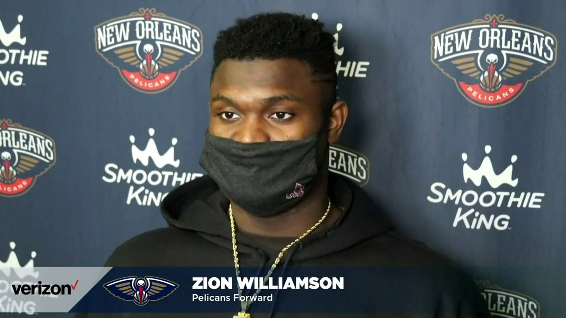 Zion Williamson talks learning and growing after loss to LA | Pelicans-Lakers Postgame