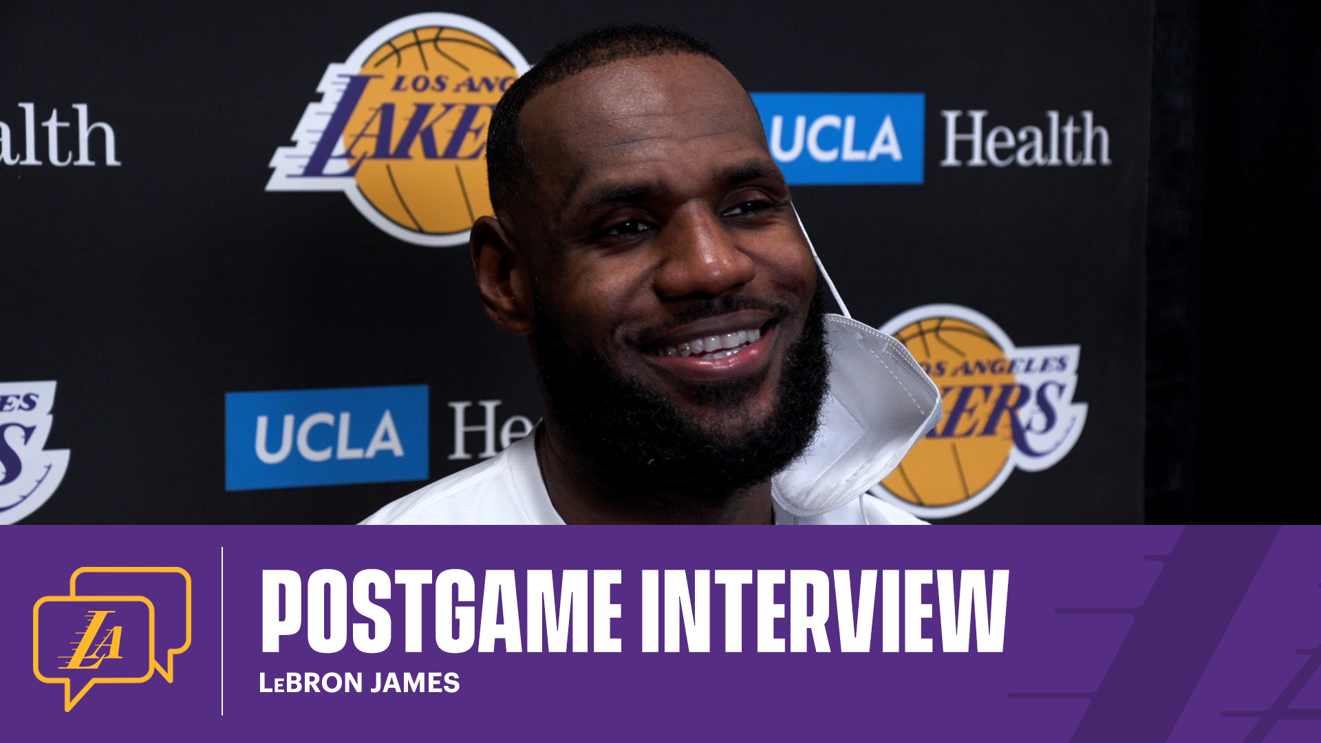 Lakers Postgame: LeBron James (1/15/21)