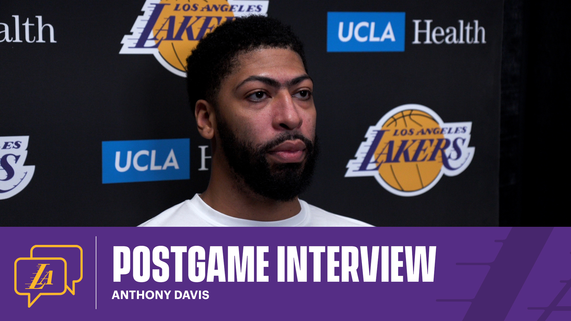 Lakers Postgame: Anthony Davis (1/15/21)