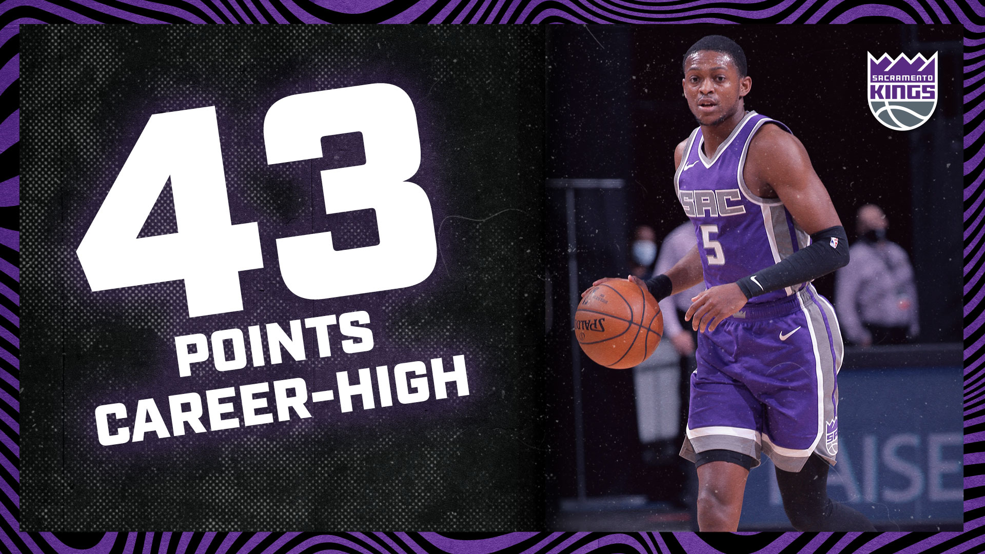 De'Aaron Fox notched a new CAREER-HIGH 43 POINTS | Kings vs Pelicans 1.17.20
