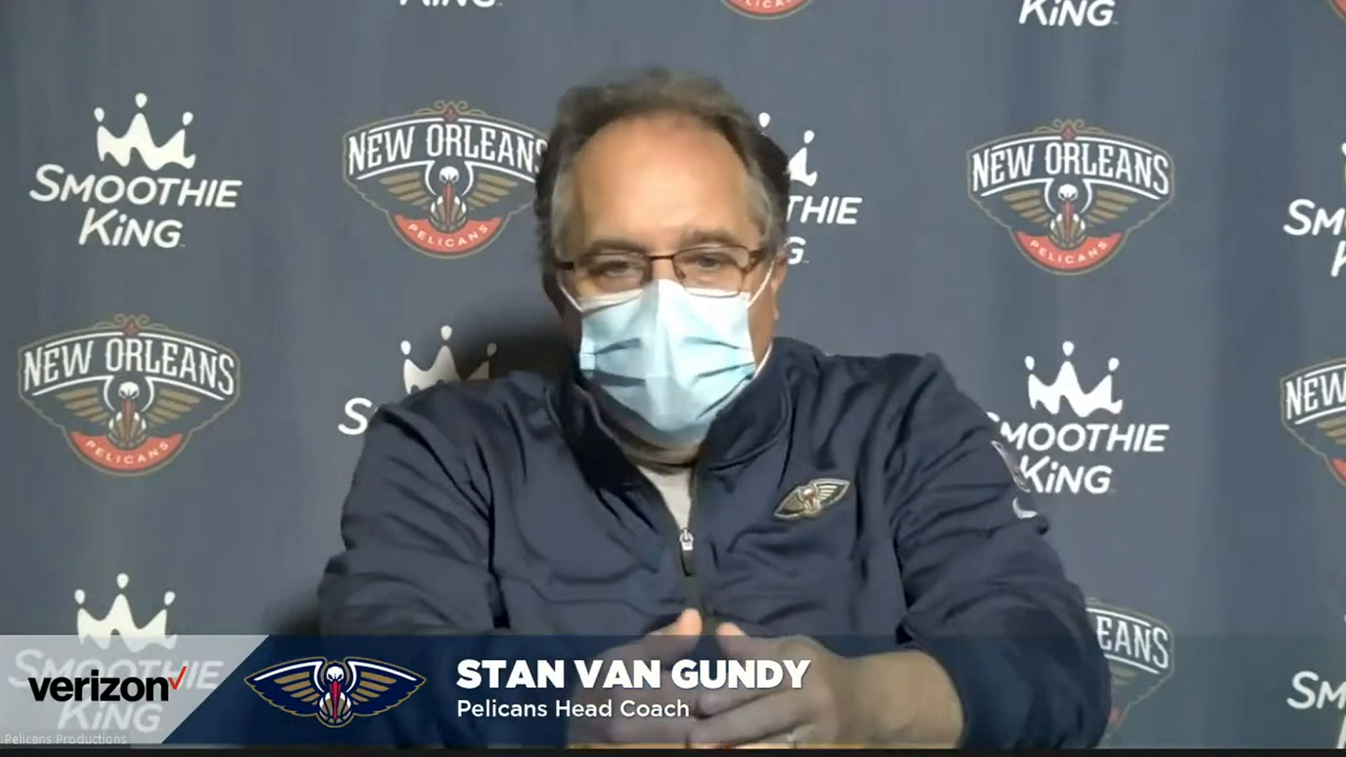 Pelicans-Kings Postgame Interview: Stan Van Gundy 1-17-21
