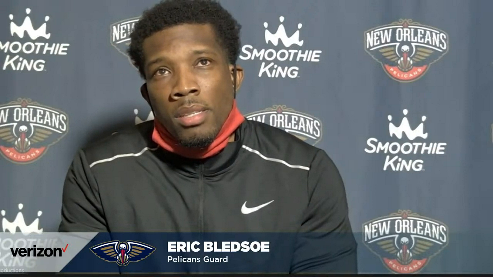 Pelicans-Kings Postgame Interview: Eric Bledsoe 1-17-21