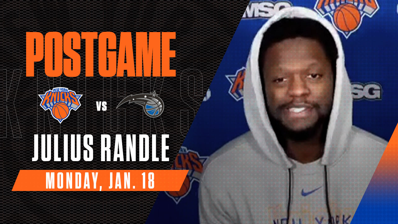 Postgame: Julius Randle | Knicks vs. Magic