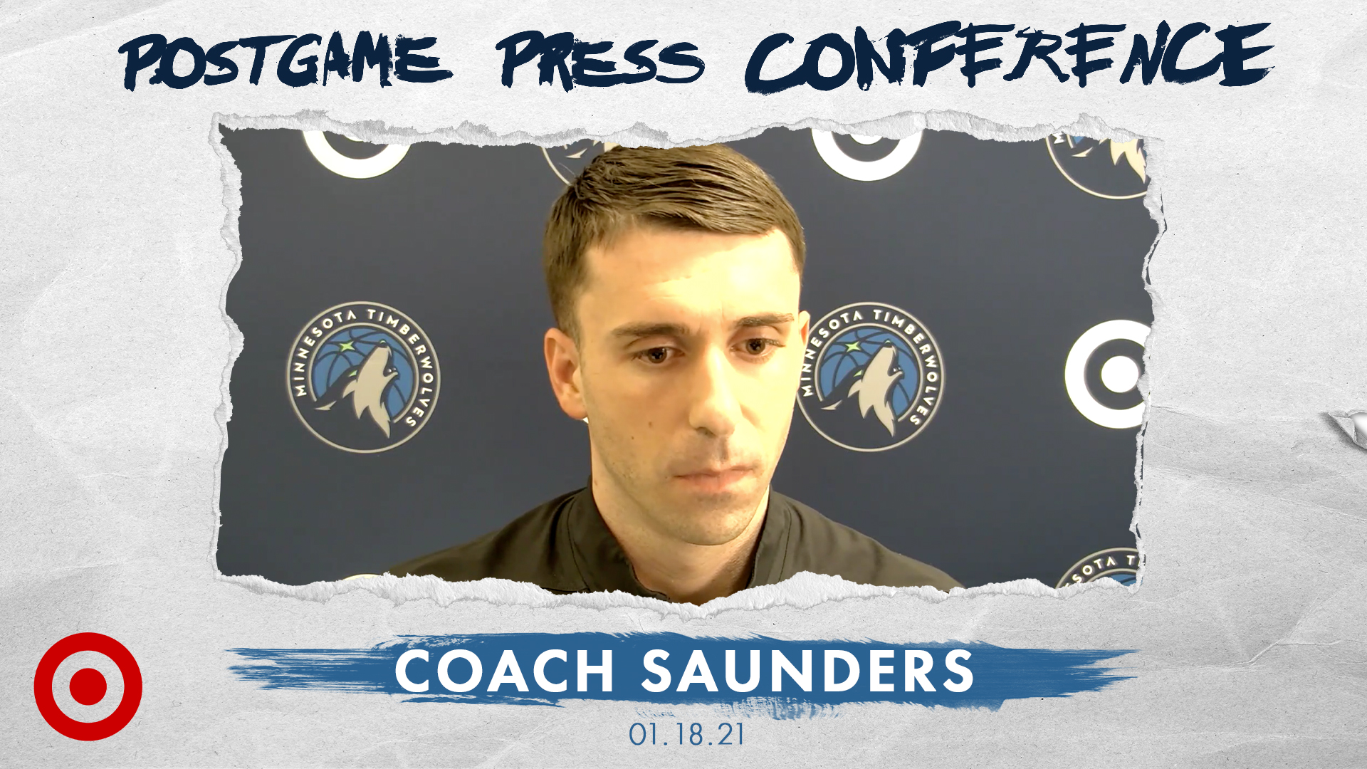 Coach Saunders Postgame Press Conference - January 18, 2021