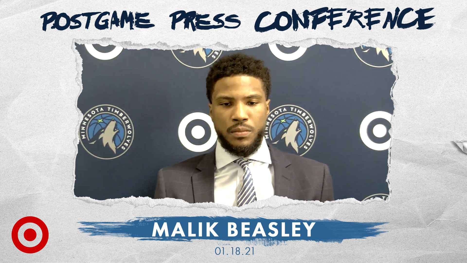 Malik Beasley Postgame Press Conference - January 18, 2021