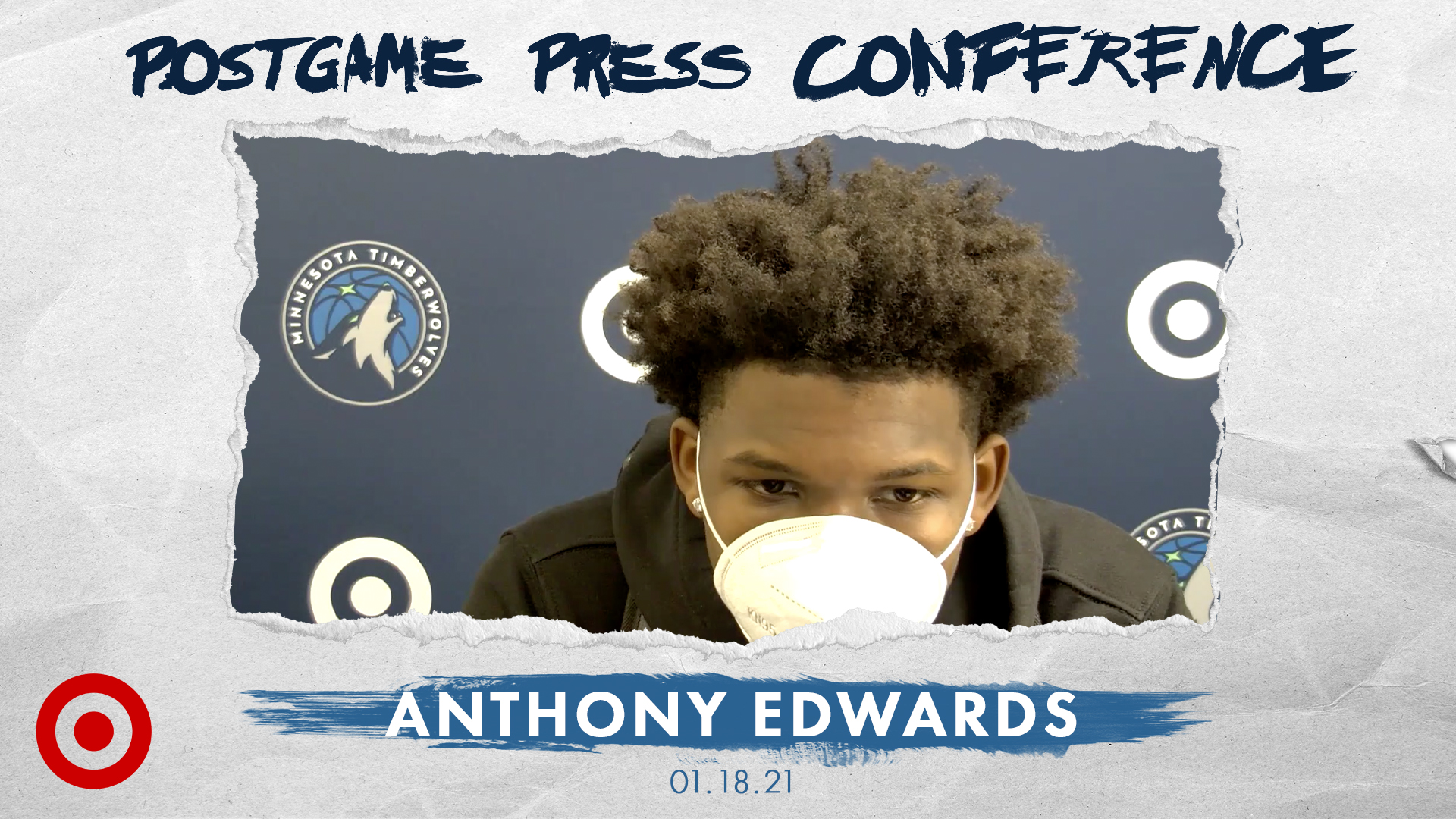 Anthony Edwards Postgame Press Conference - January 18, 2021