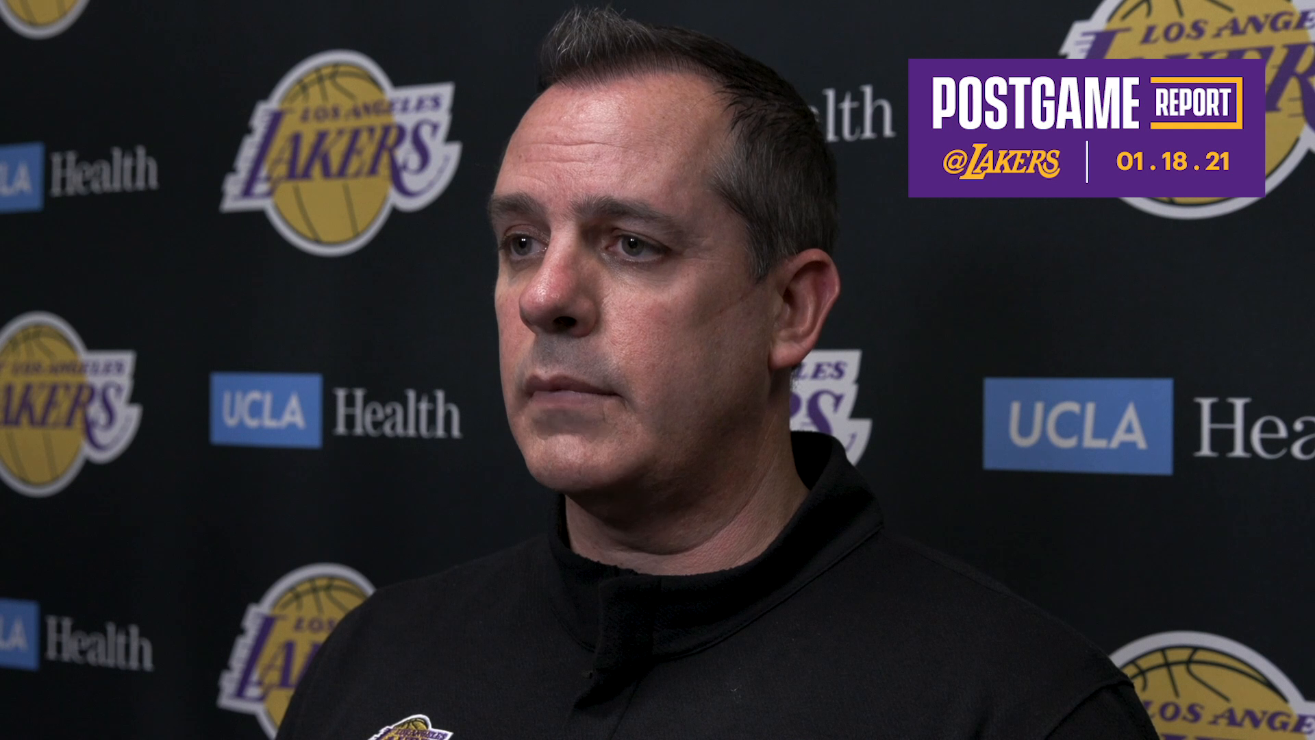 Lakers Postgame: Frank Vogel (01/18/21)