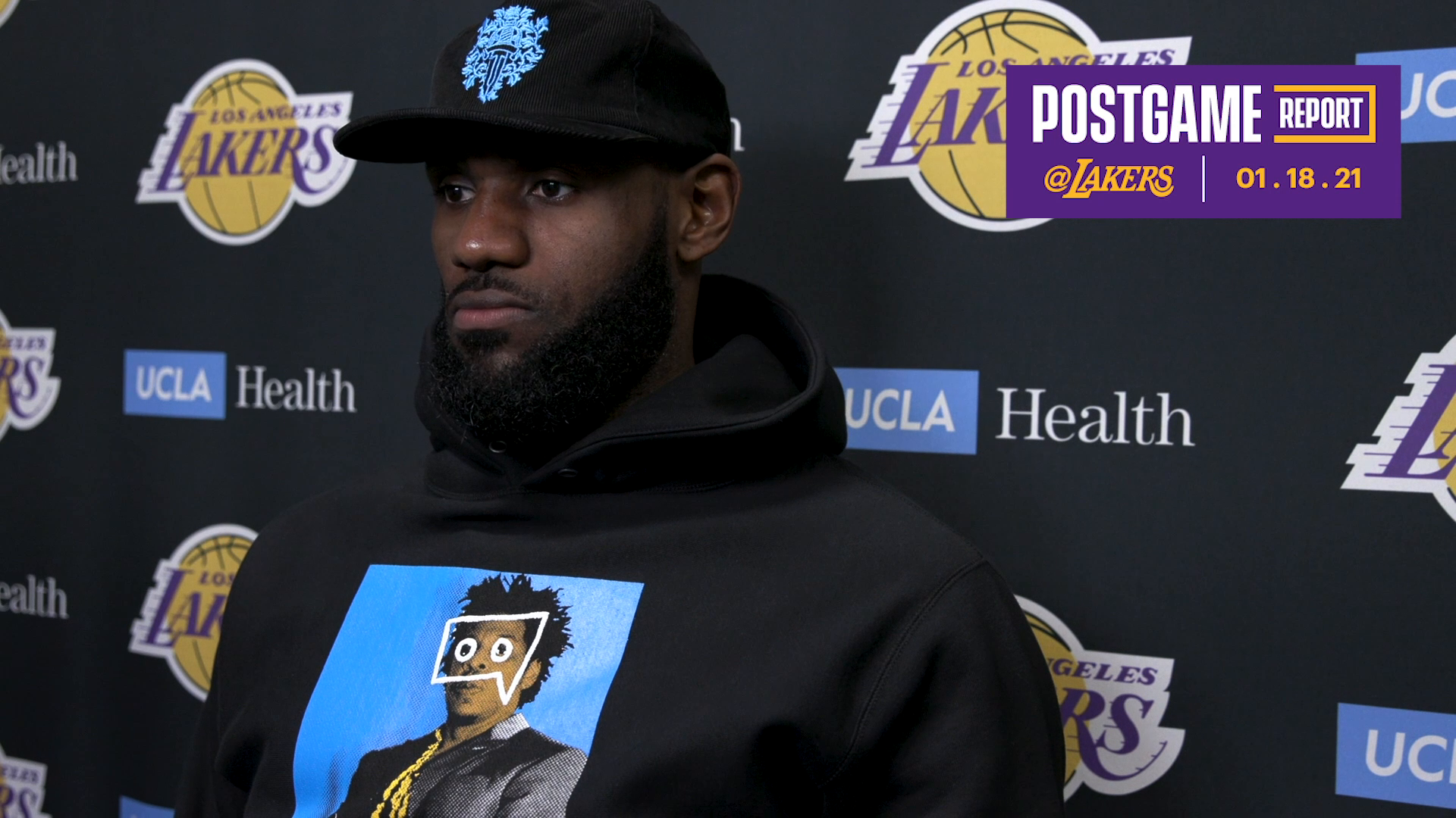 Lakers Postgame: LeBron James (01/18/21)