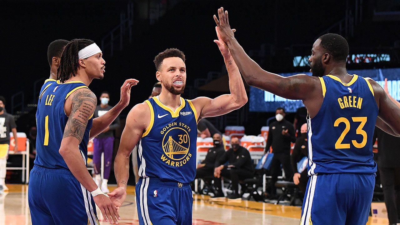Verizon Game Rewind: Dubs Hold Off Lakers in 4th Quarter for 115-113 Win