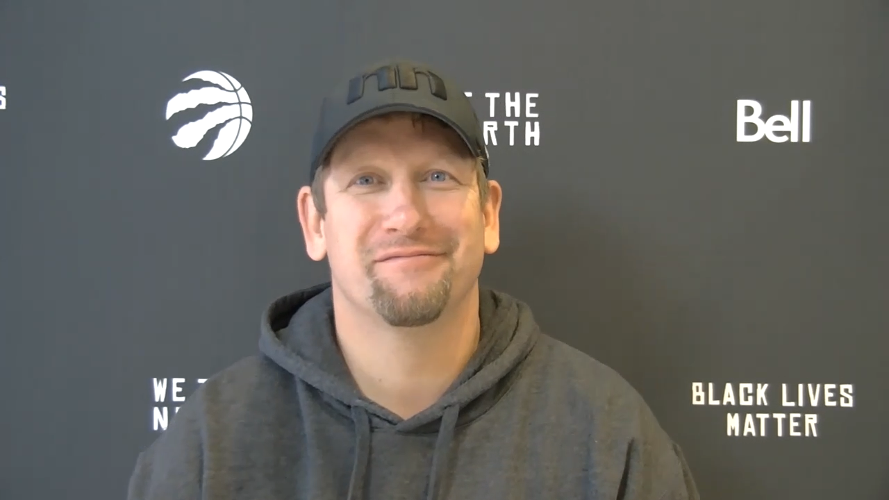 Raptors Practice: Nick Nurse - January 19, 2021