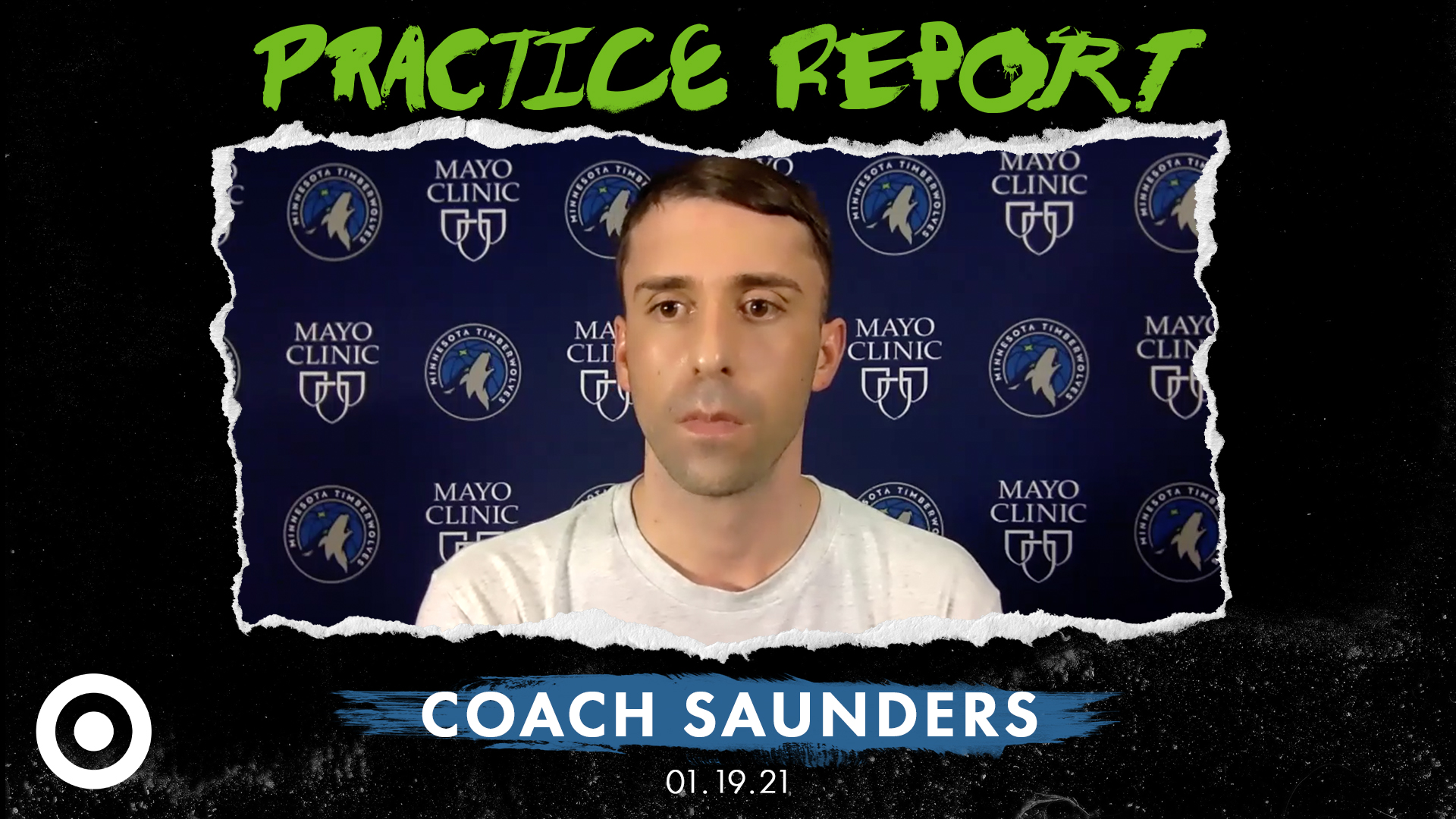 Coach Saunders Practice Report - January 19, 2021