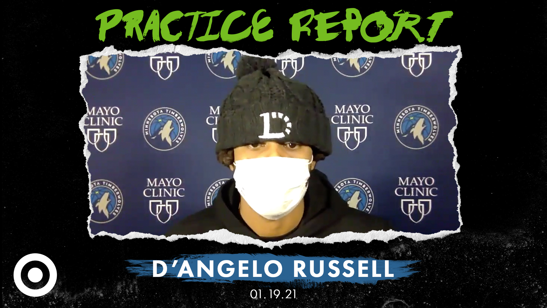 D'Angelo Russell Practice Report - January 19, 2021