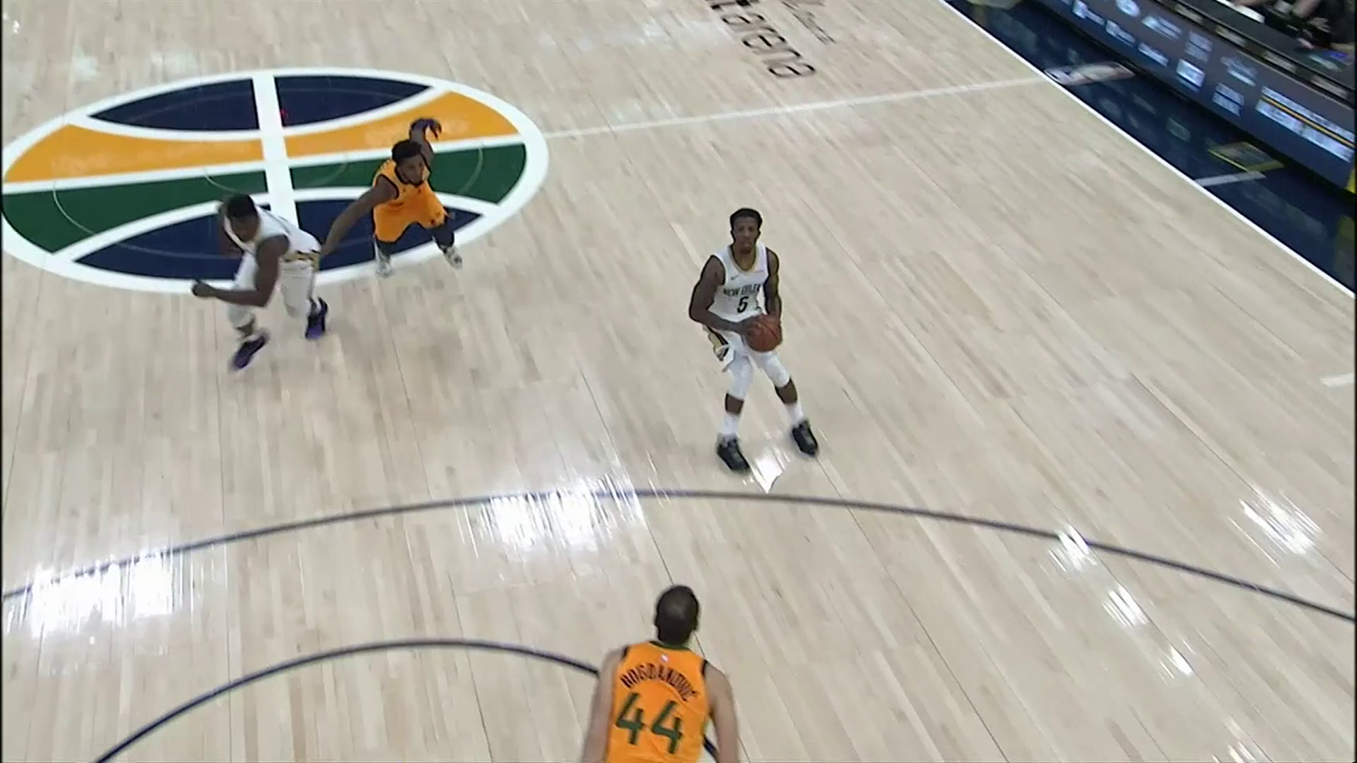 Eric Bledsoe triple   Pelicans at Jazz Highlights
