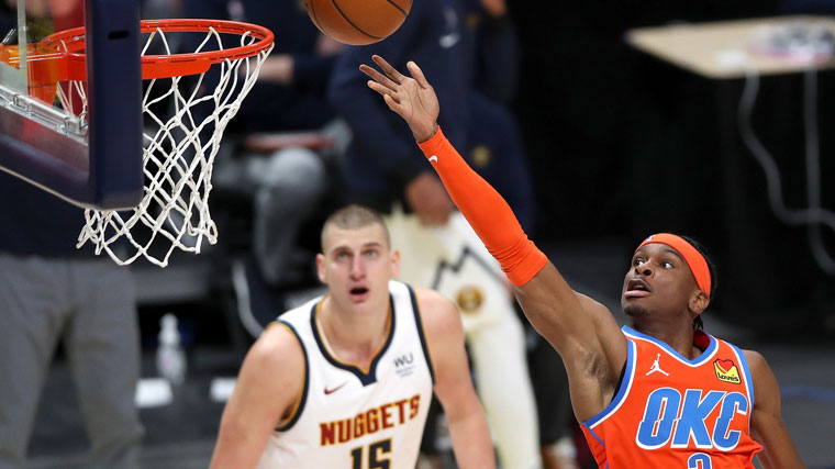 Highlights: Thunder at Nuggets